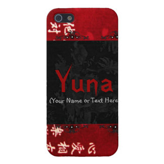 Chic Red Japanese Art iPhone 5 Cases