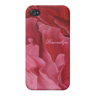 Chic Red Roses iPhone 4 Case