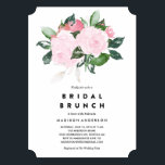 """Chic Romance   Bridal Shower Brunch Invitation<br><div class=""""desc"""">Shower the bride with beautiful invitations! Set the stage for her upcoming nuptials with our trendy and modern designs.</div>"""