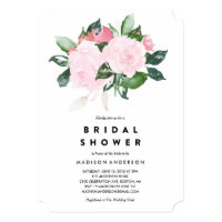 Chic Romance | Bridal Shower Invitation