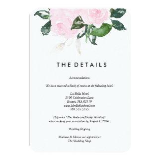 Chic Romance | Details Card