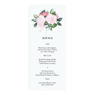Chic Romance | Menu Card