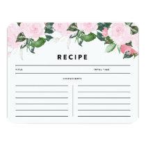 Chic Romance | Recipe Card