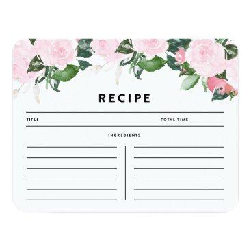 FINEandDANDY Chic Romance | Recipe Card