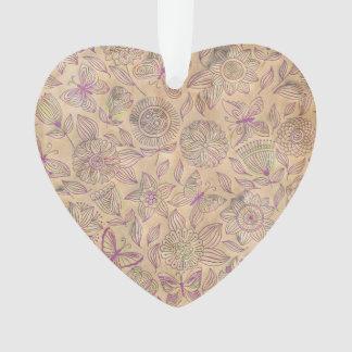 Chic romantic flower Pattern, vintage look