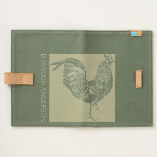 Chic Rooster Chinese New Year 2017 Name Journal