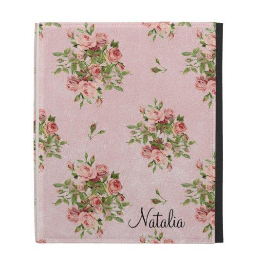 Chic Roses iPad Cases