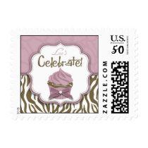 Chic Safari Invitation Stamp 2