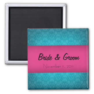 Chic Save the Date Magnet