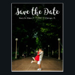 "Chic Save the Date Postcard<br><div class=""desc"">Customizable Save the Date Postcard.</div>"