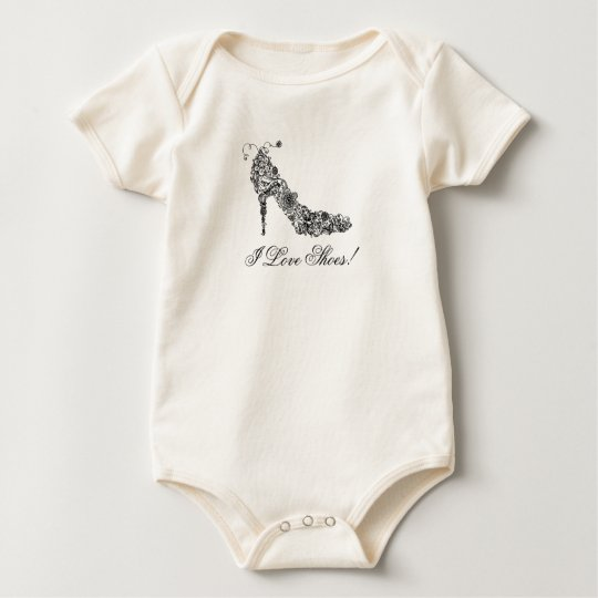 Chic Shoe - 100% ORGANIC Baby Bodysuit