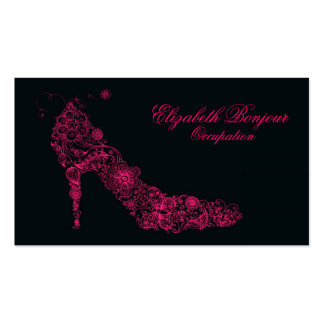 Chic Shoe Business Card