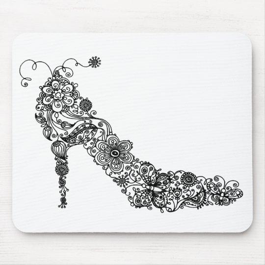 Chic Shoe ~ Mousepad
