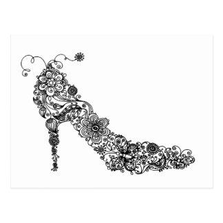 Chic Shoe ~ Postcard