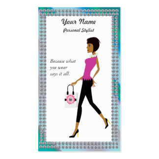 Chic Shopper, Personal Shopper Business Card