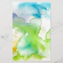 Chic Simple Beautiful Abstract Watercolor Pattern