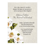Chic Southern Belle Magnolias Wedding Invitation