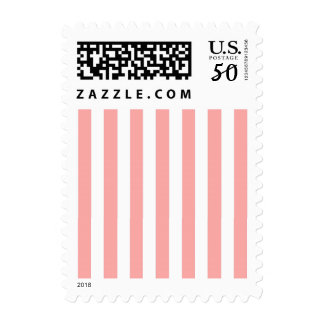 CHIC STAMP_14 BLUSH/WHITE STRIPES POSTAGE