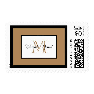 CHIC STAMP_HANDSOME THANK YOU_CAMEL/BLACK/WHITE POSTAGE