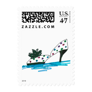CHIC STAMP_WHITE /COLOR DOTTED PUMP STAMP