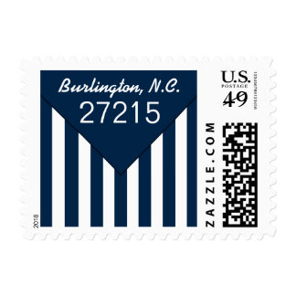 CHIC STAMP_YOUR ZIPCODE/CITY AND STATE ENVELOPE POSTAGE STAMP