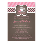 Chic Sugar and Spice Baby Shower Invitations 2