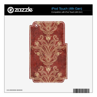 Chic Swirl Decals For iPod Touch 4G
