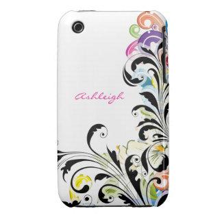 Chic Swirls iPhone 3 Case-Mate Case