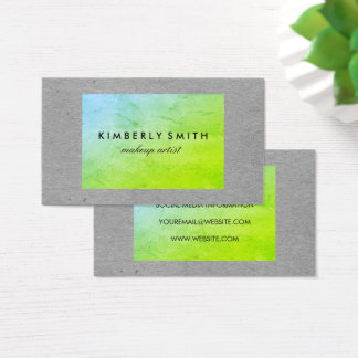 Chic Texture Business Card