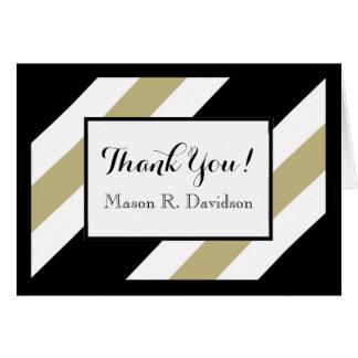 CHIC THANK YOU NOTE_WHITE/BLACK/506 KHAKI CARD