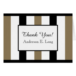 CHIC THANK YOU NOTE_WHITE/BLACK/620 CAMEL CARD
