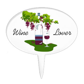 CHIC TOPPER PICK_WINE LOVER_1 CAKE TOPPERS