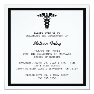 medical school graduation invitations  announcements  zazzle, Quinceanera invitations