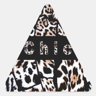 Chic Triangle Sticker