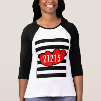 CHIC TSHIRT_ PREPPY-FAVORITE ZIPCODE T-Shirt