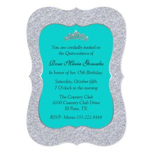 Turquoise Quince Invitations Zazzle