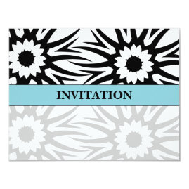 Tiffany Blue Simple Wedding Invitations