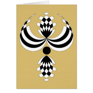 CHIC_UPTOWN GIRL  NOTE CARD_43 TAN CARD