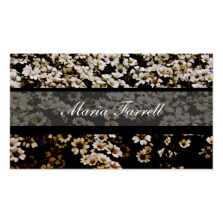 Chic Urban Enhanced Dasies Photographer Business Business Cards