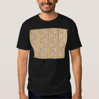 chic,wall paper,champagne,gold,floral,stripes,mode t-shirt