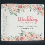 """Chic Watercolor Botanical Floral Wedding Planner 3 Ring Binder<br><div class=""""desc"""">Vintage Watercolor Botanical Floral Wedding Planner Binder Templates. A Perfect Design For Your Big Day! All Text Style,  Colors,  Sizes Can Be Modified To Fit Your Needs.</div>"""