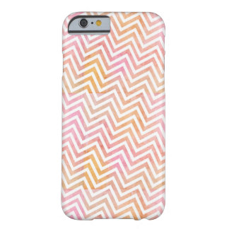 Chic Watercolor Chevron iPhone 6 Case