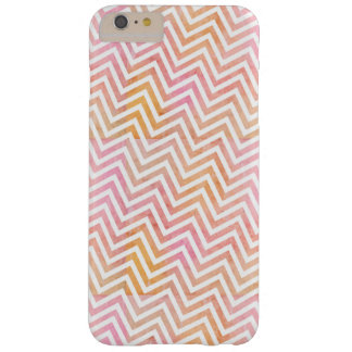 Chic Watercolor Chevron iPhone 6 PLUS + Case Barely There iPhone 6 Plus Case