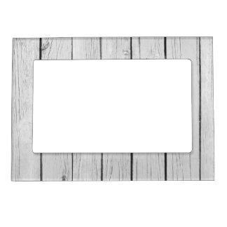 chic white rustic wood magnetic picture frame - White Wood Picture Frames