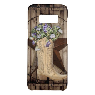 Chic Wildflower Texas Star Western country cowgirl Case-Mate Samsung Galaxy S8 Case