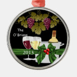 CHIC WINE LOVERS 2013 ORNAMENT PERSONALIZED