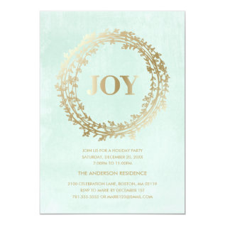 Chic Winter | Holiday Party Invitation at Zazzle