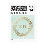 Chic Winter   Holiday Postage