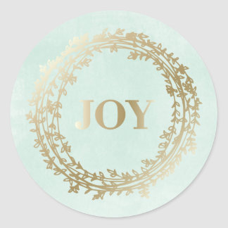 Chic Winter   Holiday Stickers