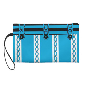 CHIC WRISTLET-AMOD BOWS AND RIBBONS WRISTLET PURSE